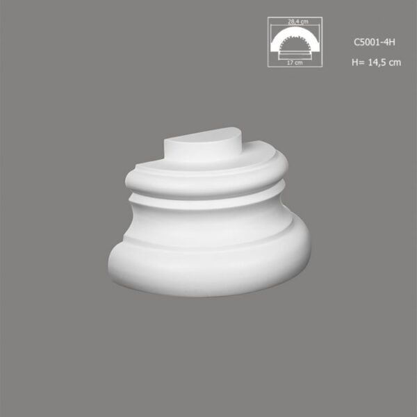 Baza półkolumny C5001-4H