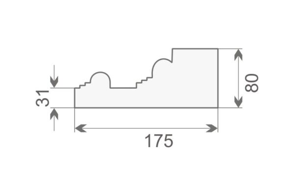 Baza pilastra BP1/250