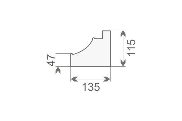 Baza pilastra BP2/400