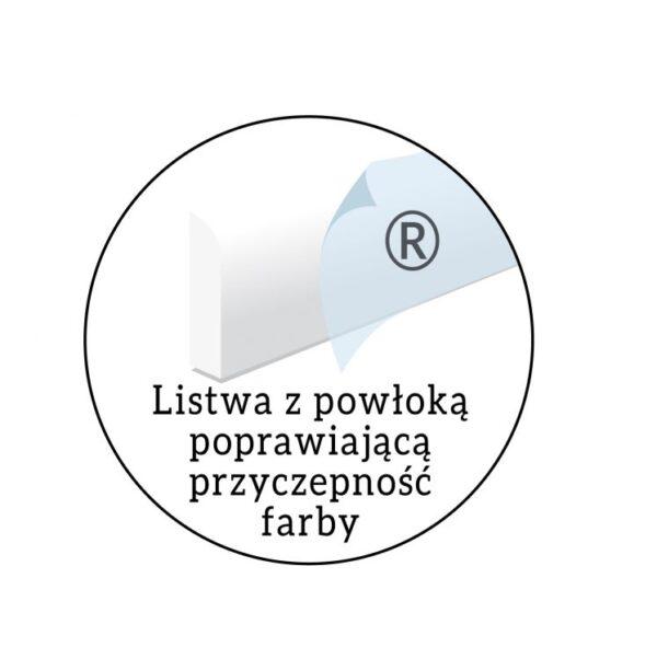 Biała Listwa gzymsowa LGG13