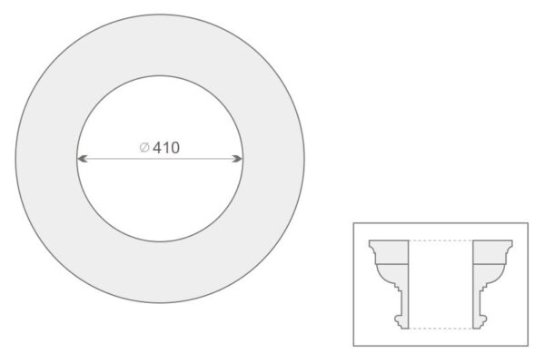 Głowica kolumny GK1/400