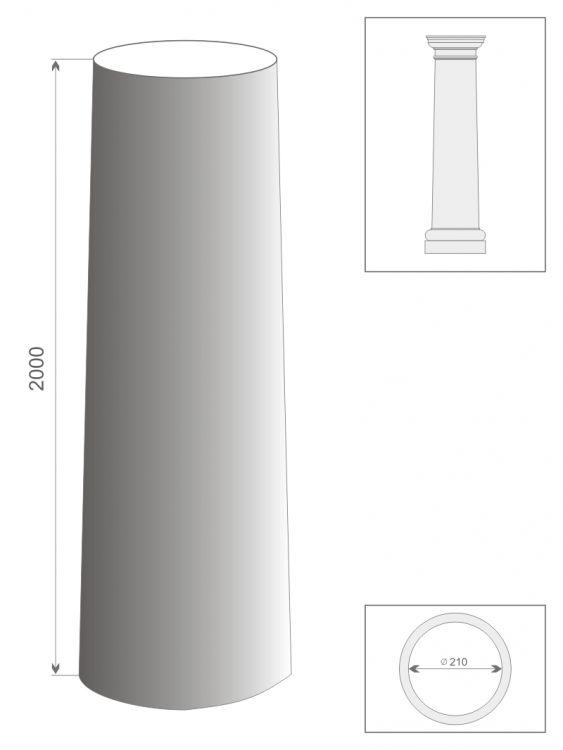 Kolumna jońska TK2/200