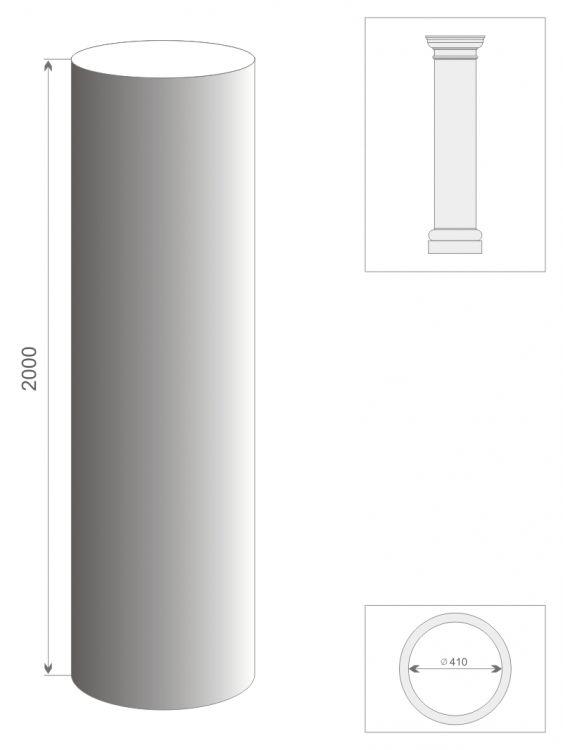 Kolumna prosta TK3/400