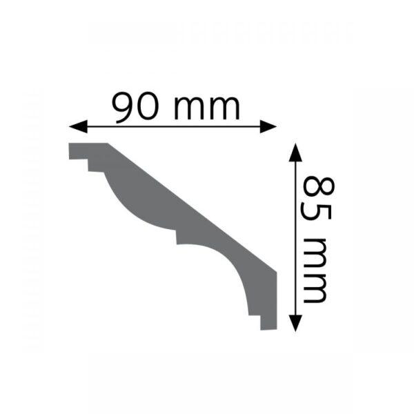 Listwa gzymsowa LGG08F
