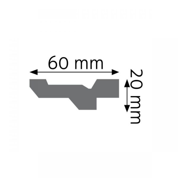 Listwa gzymsowa LGG23
