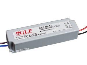 Zasilacz impulsowy wodoodporny IP 67 GPV 12V/4A 50W